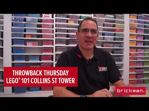 Throwback Thursday: LEGO® brick 101 Collins St Tower