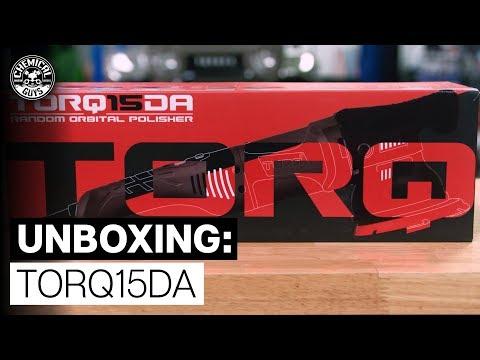 Unboxing ALL NEW TORQ 15DA Polisher Kit! - Chemical Guys