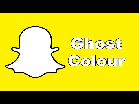 Snapchat Hacks - Change Ghosts Colour