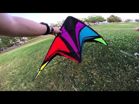 GoPro on a Stunt Kite
