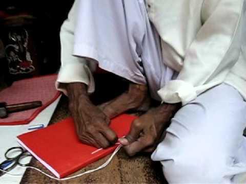 Hand Book Binder in Varanasi, India