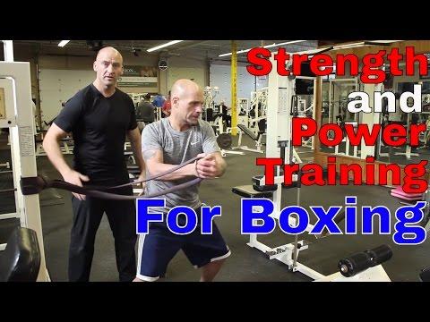 Strength and Power Training for Boxing   Ft. Josh Hewett
