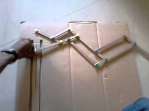 Three fold umbrella mechanism