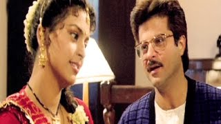 Anil Kapoor questions Juhi Chawla - Andaz, Comedy Scene 14/22