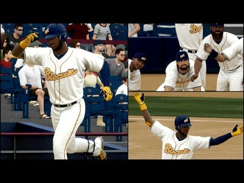 MLB 14 The Show Road to the Show PS4 - Walk-Off Home Run