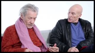 "Besties Ian McKellen & Patrick Stewart on Envy, ""Star Trek"" Costumes & the"