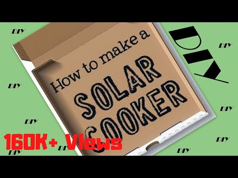 [DIY] HOW TO MAKE SIMPLE SOLAR COOKER very easily at home....