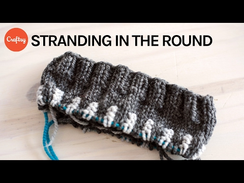Stranding in the Round | Circular Needle Colorwork Knitting Tutorial with Mary Jane Mucklestone