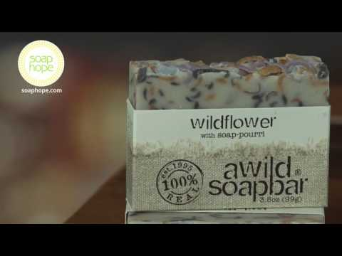 Wildflower Organic Soap Bar by A Wild Soap Bar - BUY IT AT SOAP HOPE