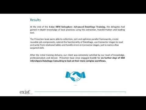 IBM Infosphere DataStage Training Case Study