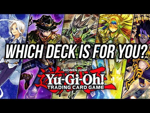 How to Pick A New Yu-Gi-Oh Deck to Build!
