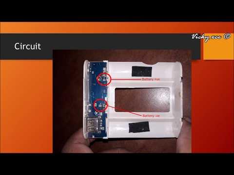 PowerBank Kaise Banaye - In Hindi (DIY - How to Make PowerBank with Old Laptop Battery)