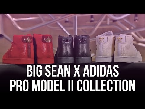 Big Sean x adidas Originals Pro Model II Collection