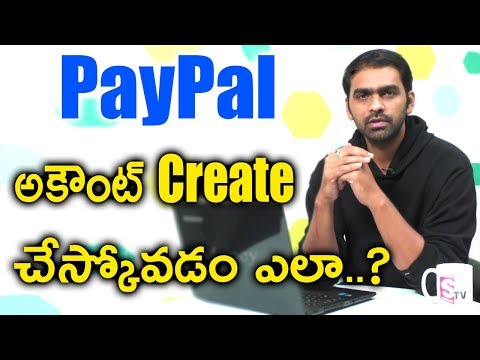 How to Create PayPal Account in India | SumanTV Money
