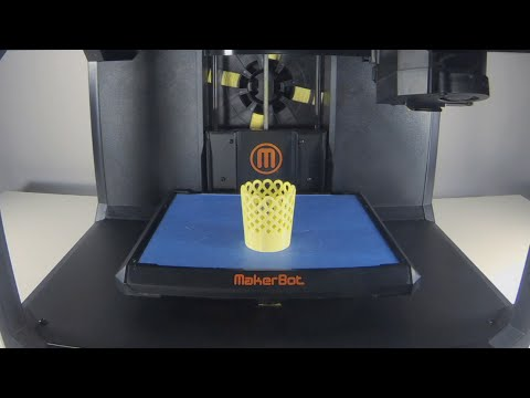 MakerBot Time lapse | MSLO LED Votive Holder