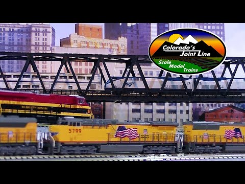 Colorado Joint Line Layout Update - HO & N Trains