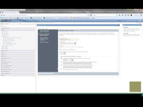 IBM Websphere Cluster Creation and Adding Nodes in Cluster