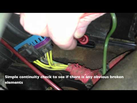 Glow Plug Resistance Check 7.3 Powerstroke