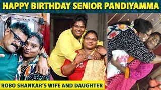 Robo Shankar's wife Priyanka Birthday Celebrations   Bigil   Pandiyamma    LittleTalks