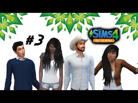 Let's Play: The Sims 4: Get To Work - (Part 3) - Work with Scotty boy