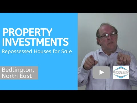 Property Investments in Bedlington, North East – Repossessed Houses for Sale Bedlington, North East