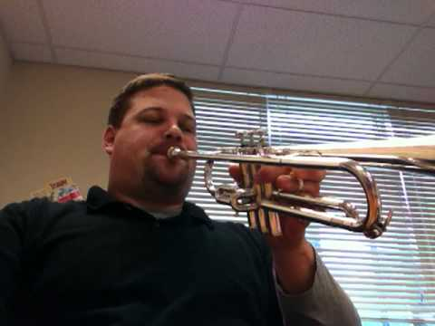 Playing High Notes on Trumpet