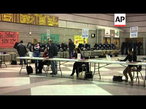 Counting under way in San Francisco, polling station taken down in Nevada