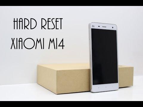 How to Hard Reset Xiaomi Mi4