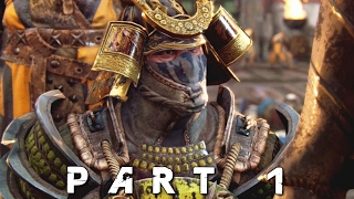 FOR HONOR Samurai Campaign Walkthrough Gameplay Part 1 - Poison