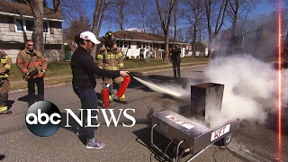 New warning about fire extinguishers