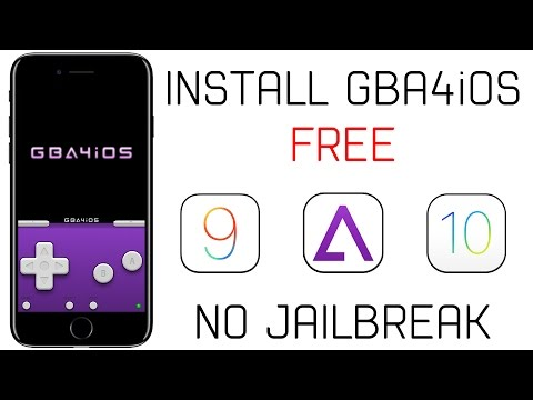 How to Install GBA & Roms For FREE on iOS 9/10 (NO JAILBREAK)