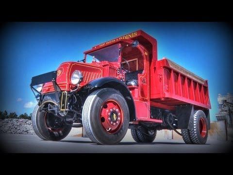 1929 Mack AK Chain Drive Dump Truck