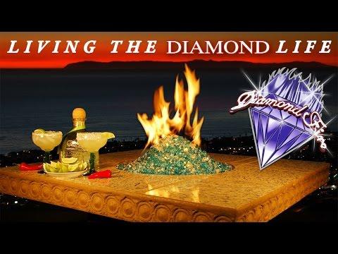 Diamond Fire Glass - Fire Pit Glass Video Gallery