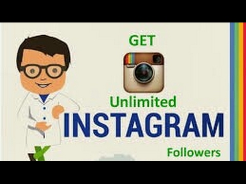 How To Get Unlimited Instagram Followers