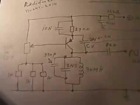 Sine wave oscillator L-C on 15 - 20 KHz or more