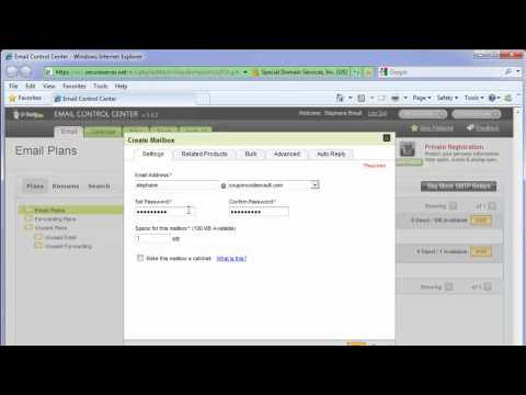 How to create an email account with GoDaddy
