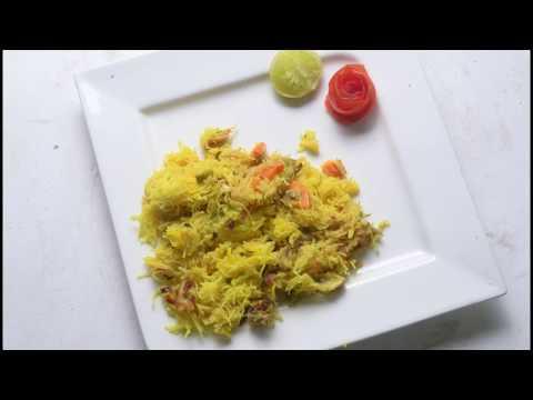Mushroom Carrot Tho Rice Semiya Pulao