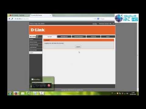 Tuto tutoriel changer mot de passe router WiFi D-Link كيفية تغيير كلمة السر للروتر ويفي