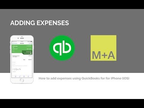 Adding Expenses - QuickBooks App for iPhone and iPad iOS