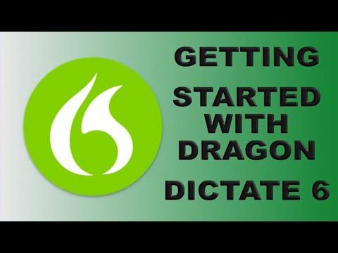 Dragon Dictate version 6