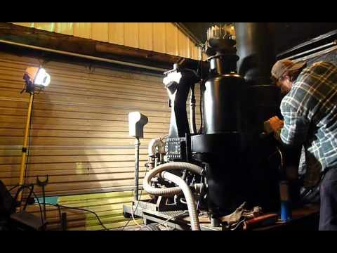 Gasifier generator load bank testing