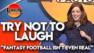 Try Not to Laugh | Fantasy Football Isn't Even Real | Laugh Factory Stand Up Comedy