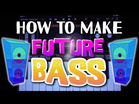 How to make Future Bass in Garageband (iPad & iPhone)
