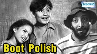 Boot Polish(1954) - Hindi Full Movie - Kumari Naaz - David Abraham