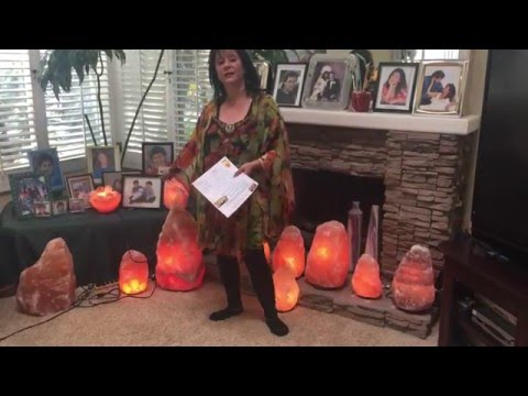 Himalayan Salt Lamp Review with Natural health care practitioner Anna Mintz