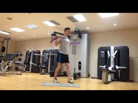 Shoulder External Rotation for a Bigger Backswing Using the GolfBand