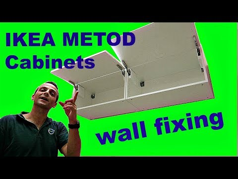 IKEA METOD Cabinets wall mounting