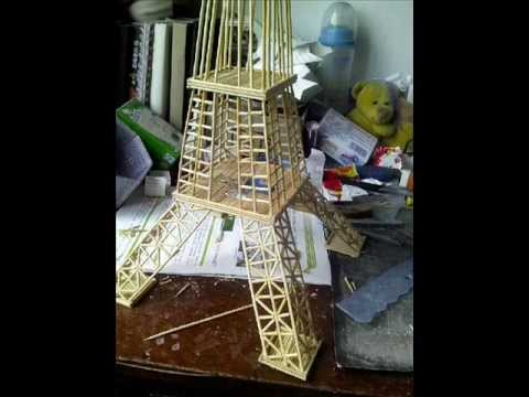 How to make Eiffel Tower Amazingly easy step by step instruction.