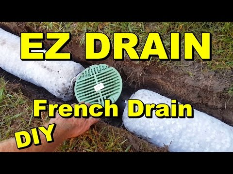 Backyard Sump EZ Flow French Drain