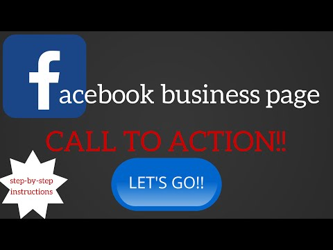 How to create a CALL TO ACTION on Facebook business page PLUS bonus trick